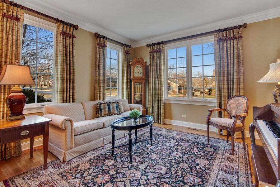 Real Estate Photography - 337 W. Oak Avenue, Wheaton, IL, 60187 - Living Room