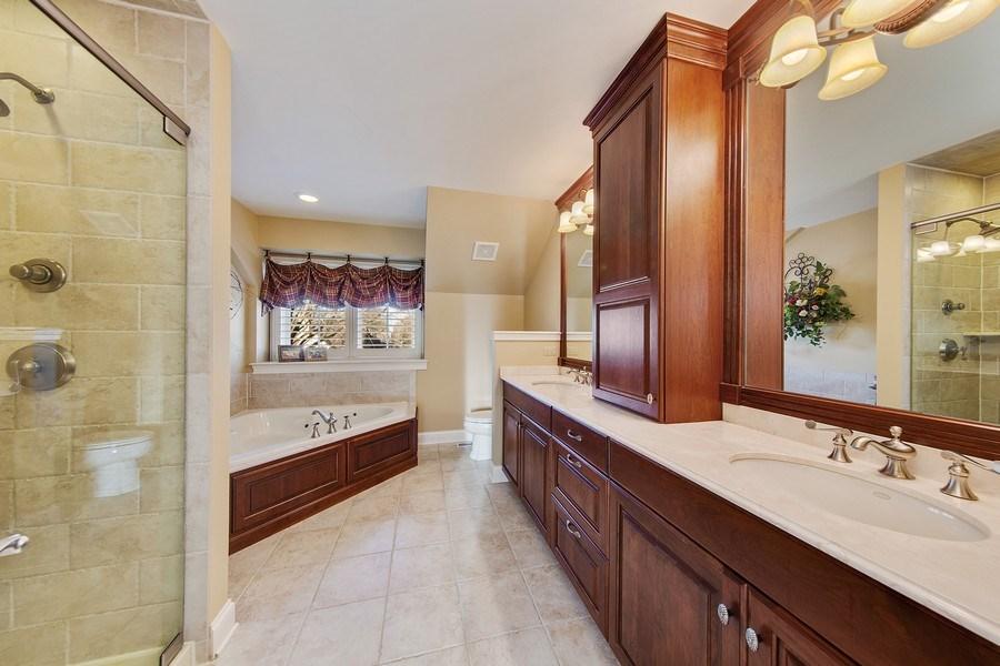 Real Estate Photography - 337 W. Oak Avenue, Wheaton, IL, 60187 - Master Bathroom