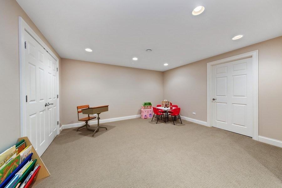 Real Estate Photography - 337 W. Oak Avenue, Wheaton, IL, 60187 - Basement Play Area