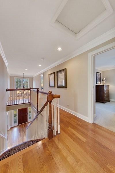 Real Estate Photography - 337 W. Oak Avenue, Wheaton, IL, 60187 - 2nd Floor Hall
