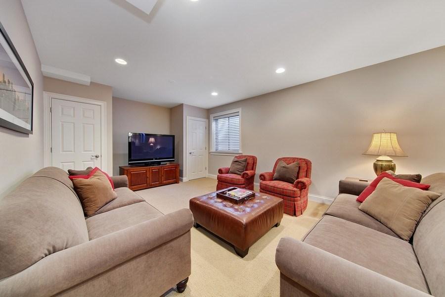 Real Estate Photography - 337 W. Oak Avenue, Wheaton, IL, 60187 - Basement Rec Room