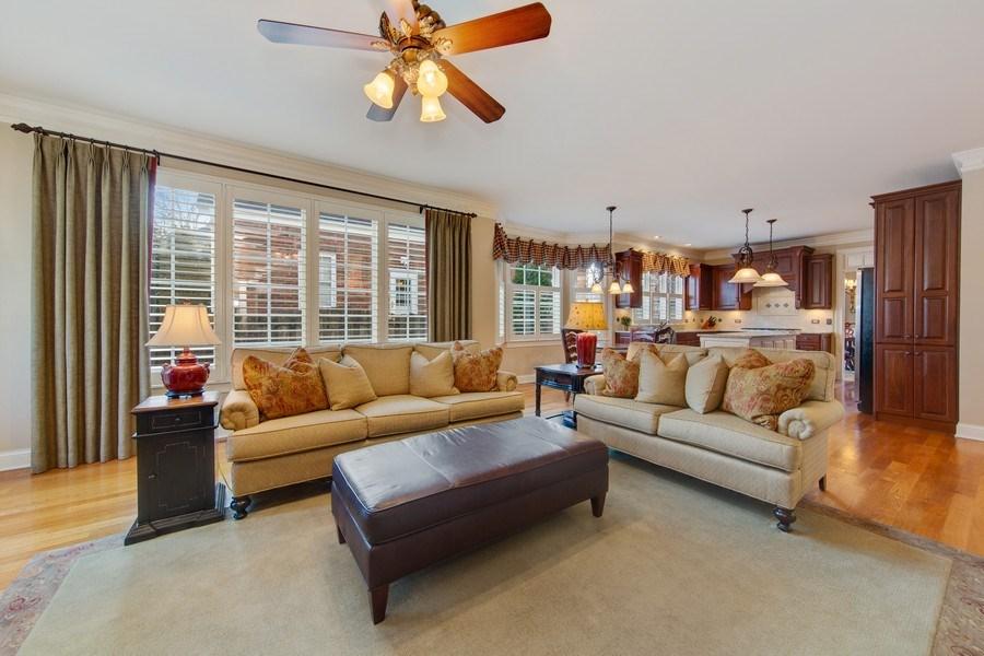Real Estate Photography - 337 W. Oak Avenue, Wheaton, IL, 60187 - Family Room