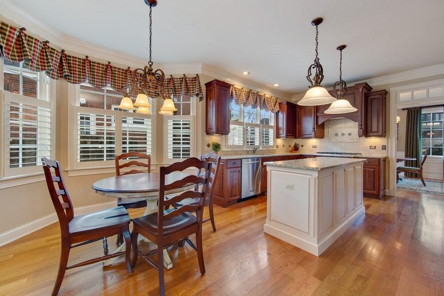 Real Estate Photography - 337 W. Oak Avenue, Wheaton, IL, 60187 - Breakfast Area