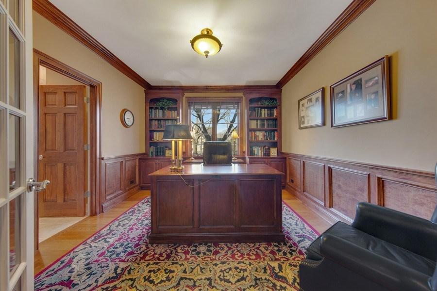 Real Estate Photography - 337 W. Oak Avenue, Wheaton, IL, 60187 - 1st Floor Study