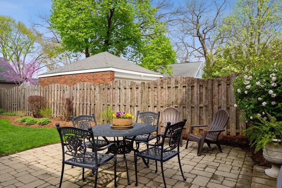 Real Estate Photography - 337 W. Oak Avenue, Wheaton, IL, 60187 - Patio