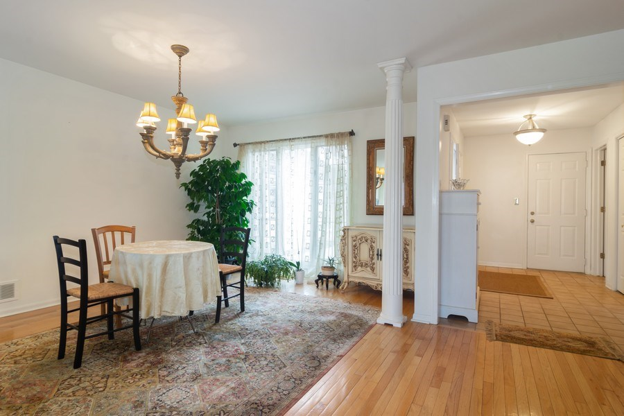 Real Estate Photography - 1384 Shire Circle, Inverness, IL, 60067 - Foyer/Dining Room