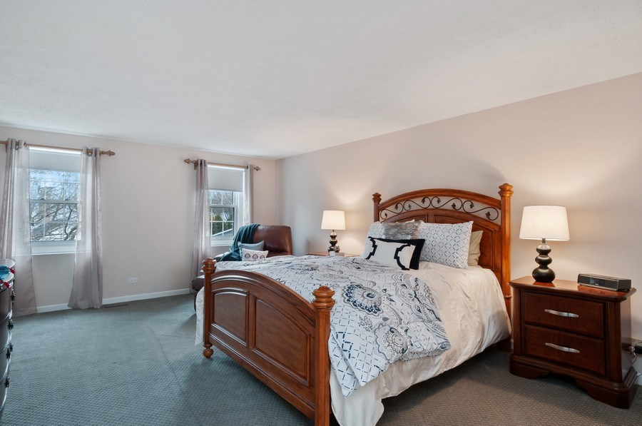 Real Estate Photography - 201 N. Birchwood Drive, Naperville, IL, 60540 - Master Bedroom