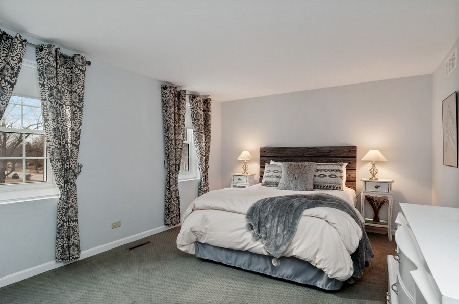 Real Estate Photography - 201 N. Birchwood Drive, Naperville, IL, 60540 - 2nd Bedroom