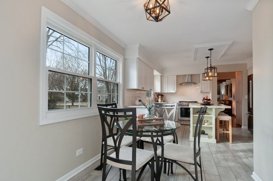 Real Estate Photography - 201 N. Birchwood Drive, Naperville, IL, 60540 - Kitchen / Breakfast Room