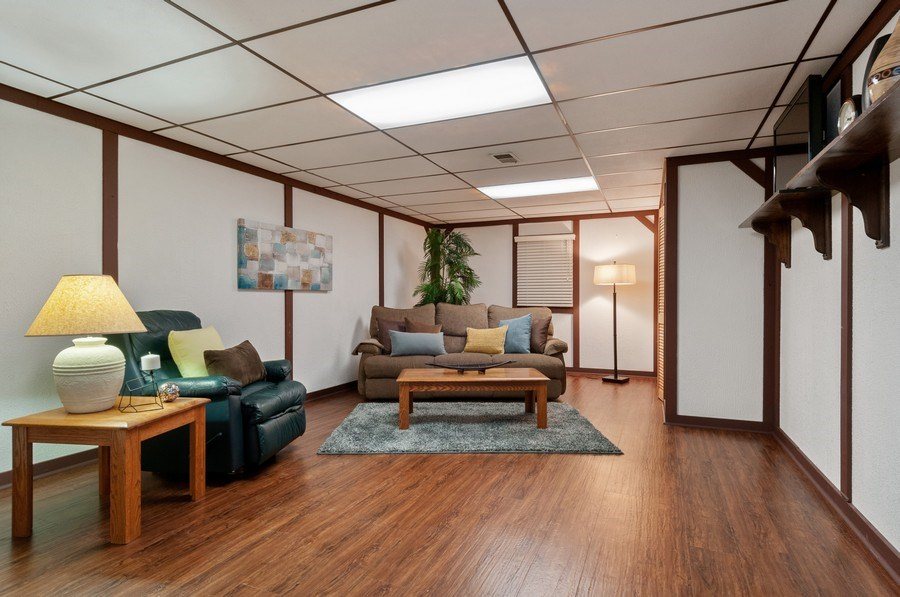 Real Estate Photography - 201 N. Birchwood Drive, Naperville, IL, 60540 - Basement