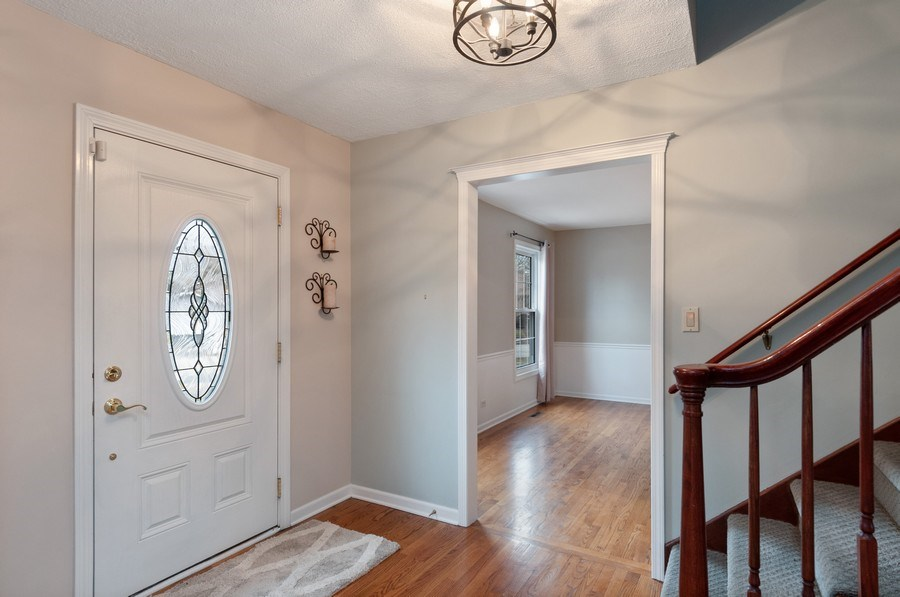 Real Estate Photography - 201 N. Birchwood Drive, Naperville, IL, 60540 - Foyer