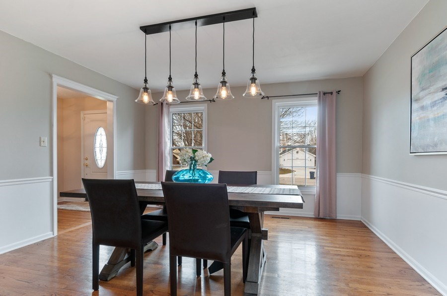 Real Estate Photography - 201 N. Birchwood Drive, Naperville, IL, 60540 - Dining Room