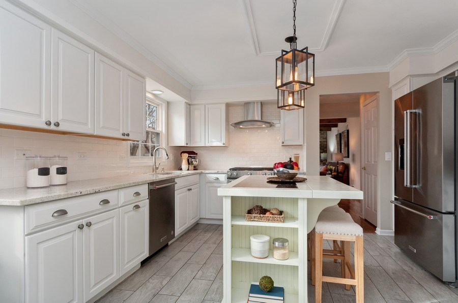 Real Estate Photography - 201 N. Birchwood Drive, Naperville, IL, 60540 - Kitchen