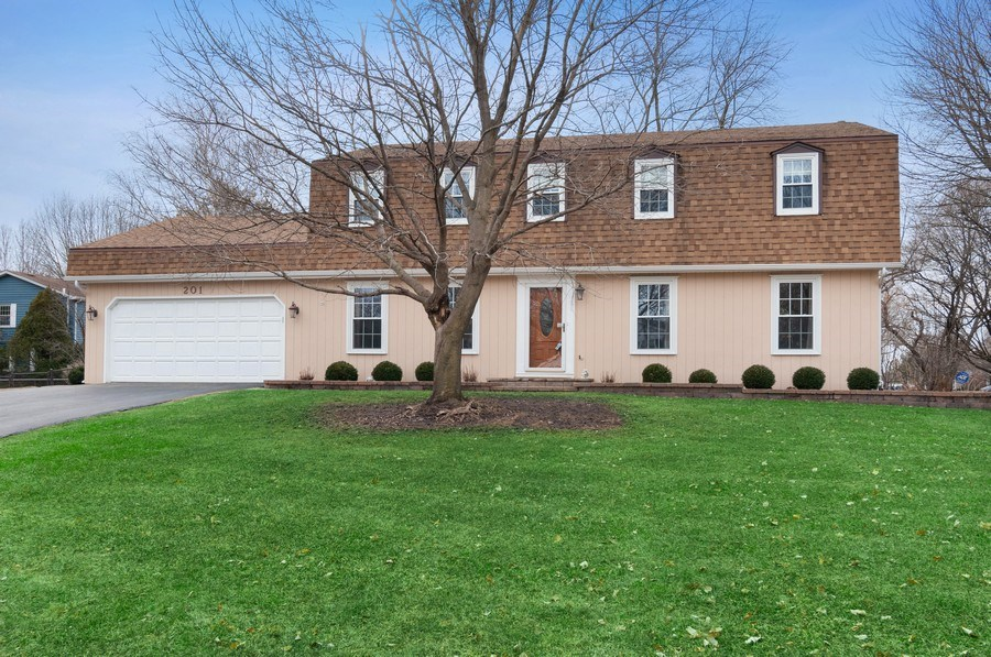 Real Estate Photography - 201 N. Birchwood Drive, Naperville, IL, 60540 - Front Exterior