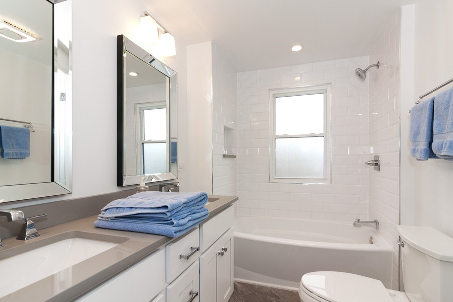 Real Estate Photography - 436 Gierz Street, Downers Grove, IL, 60515 - 3rd Bathroom