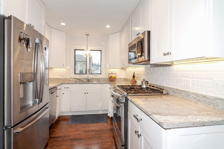 Real Estate Photography - 436 Gierz Street, Downers Grove, IL, 60515 - Kitchen