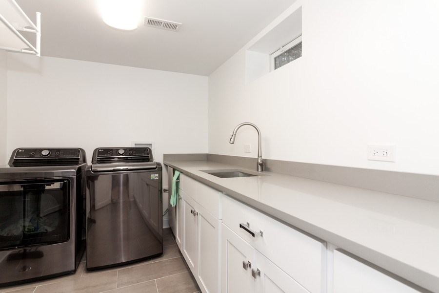 Real Estate Photography - 436 Gierz Street, Downers Grove, IL, 60515 - Laundry Room