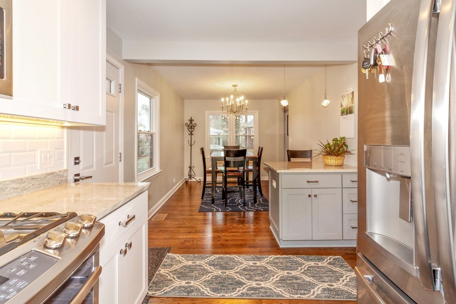 Real Estate Photography - 436 Gierz Street, Downers Grove, IL, 60515 - Kitchen / Dining Room