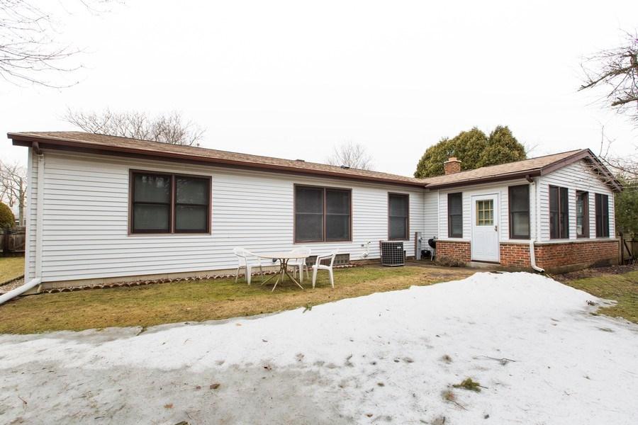 Real Estate Photography - 1057 Tamarack Lane, Libertyville, IL, 60048 - Rear View