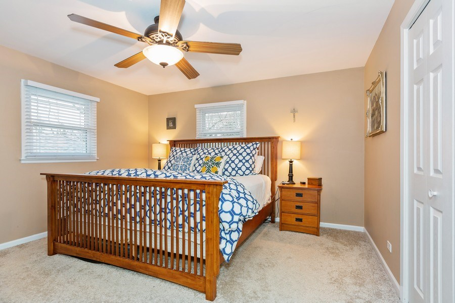 Real Estate Photography - 314 HIGHLAND Road, Willowbrook, IL, 60527 - Master Bedroom