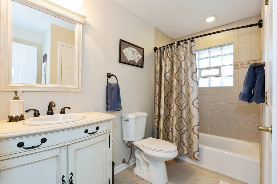 Real Estate Photography - 314 HIGHLAND Road, Willowbrook, IL, 60527 - Bathroom