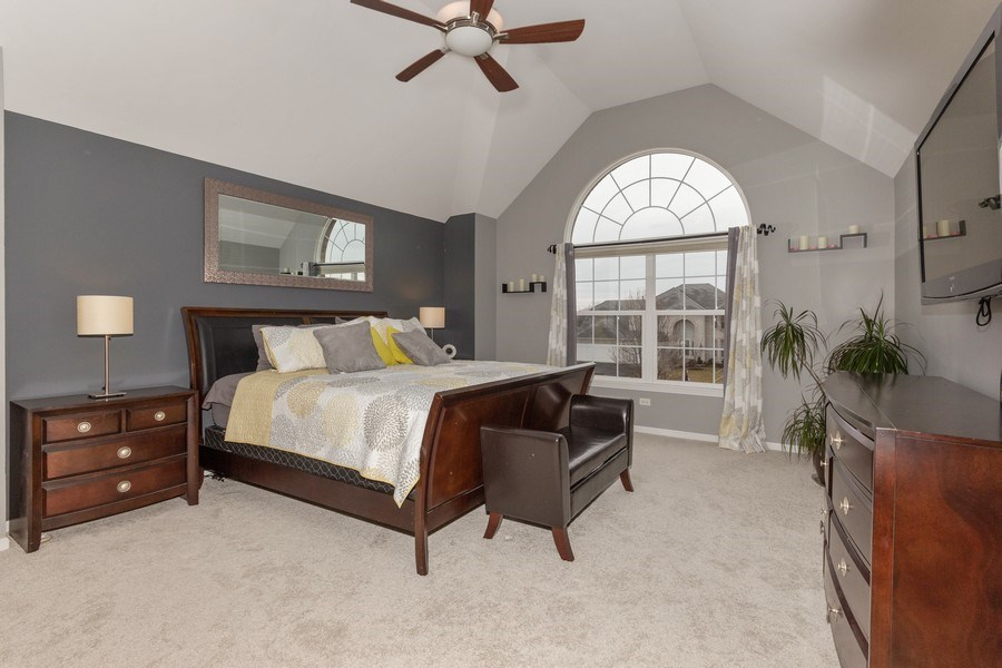 Real Estate Photography - 13602 Rockefeller Circle, Plainfield, IL, 60544 - Master Bedroom