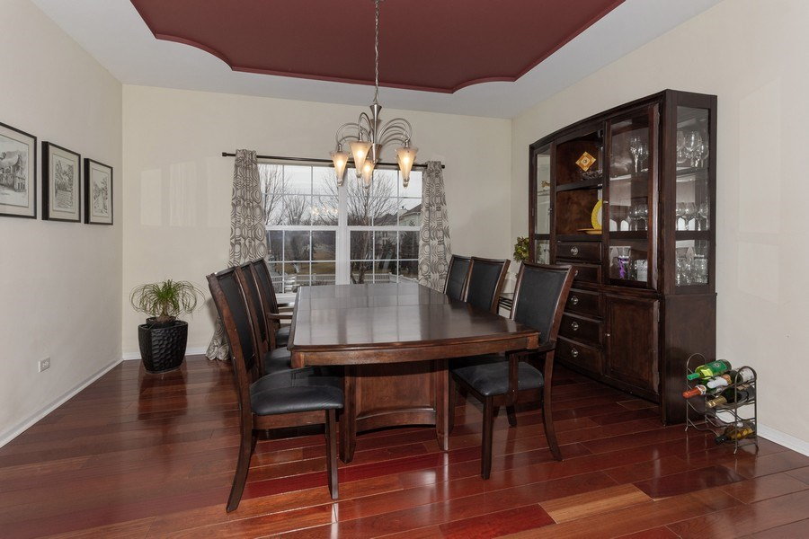 Real Estate Photography - 13602 Rockefeller Circle, Plainfield, IL, 60544 - Dining Room