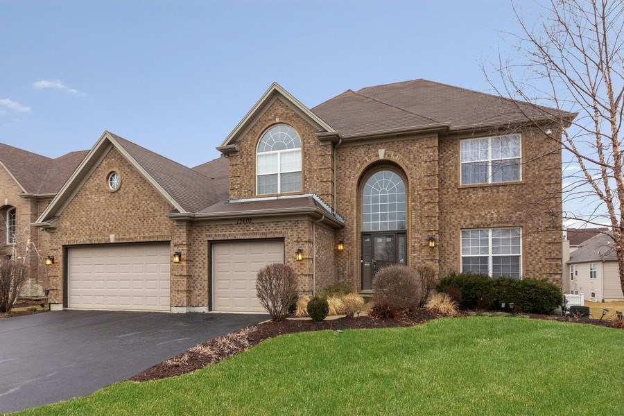 Real Estate Photography - 13602 Rockefeller Circle, Plainfield, IL, 60544 - Front View