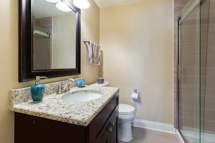 Real Estate Photography - 925 Kennebec Lane, Naperville, IL, 60563 - 2nd bathroom