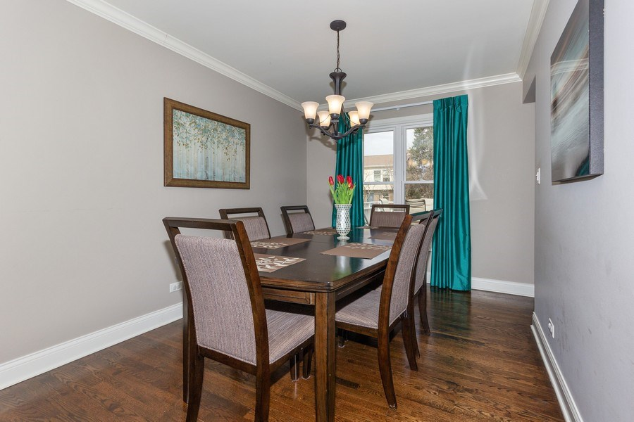Real Estate Photography - 925 Kennebec Lane, Naperville, IL, 60563 - Dining Room