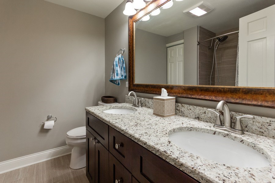 Real Estate Photography - 925 Kennebec Lane, Naperville, IL, 60563 - Bathroom