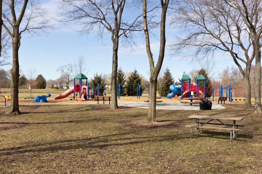 Real Estate Photography - 925 Kennebec Lane, Naperville, IL, 60563 - Neighborhood park