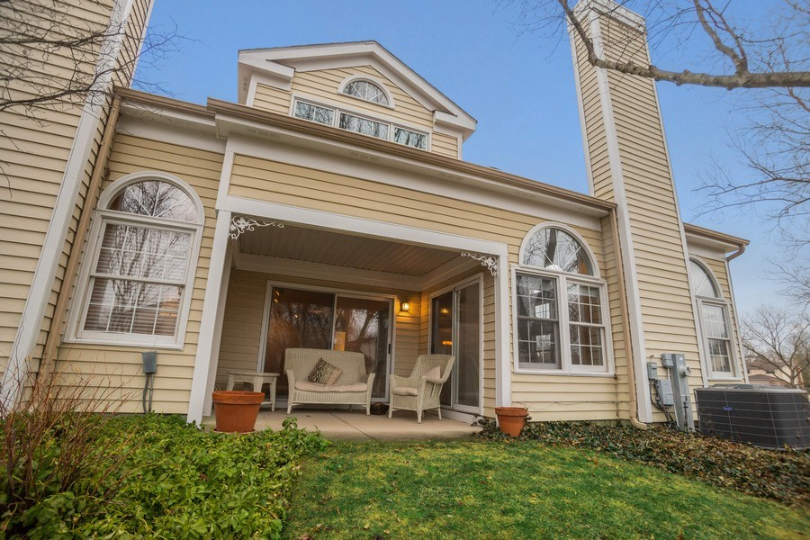 Real Estate Photography - 3052 North Daniels Ct, 201, Arlington Heights, IL, 60004 - Rear View