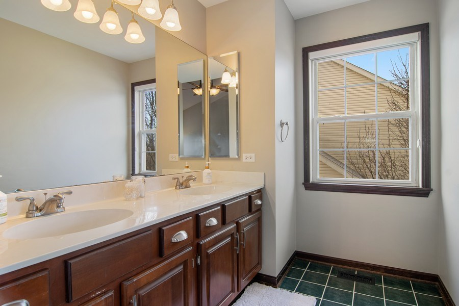 Real Estate Photography - 1456 Polo Drive, Bartlett, IL, 60103 - Master Bathroom
