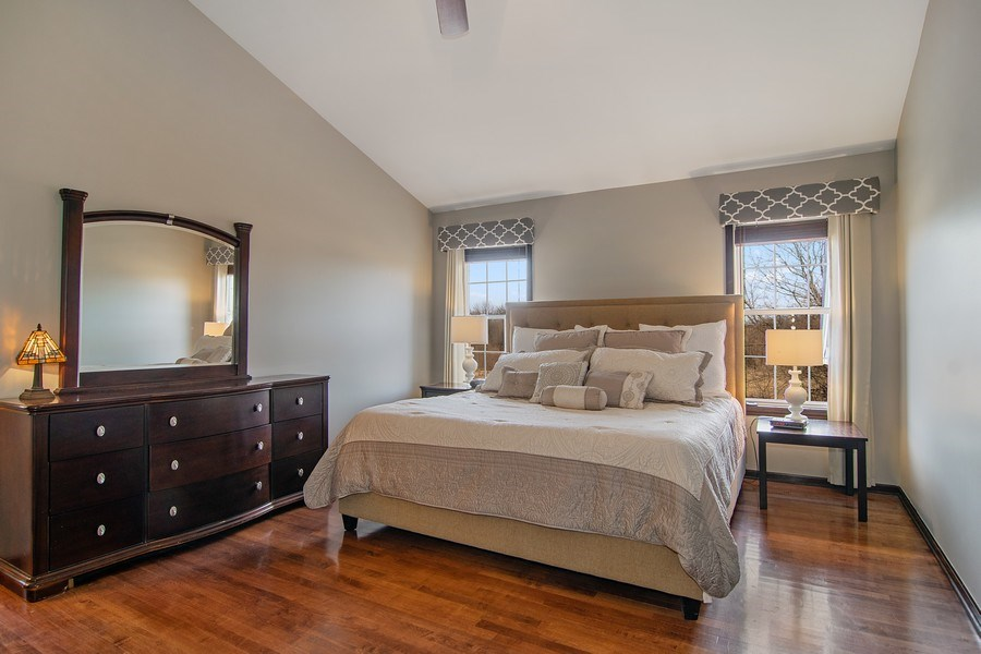 Real Estate Photography - 1456 Polo Drive, Bartlett, IL, 60103 - Master Bedroom