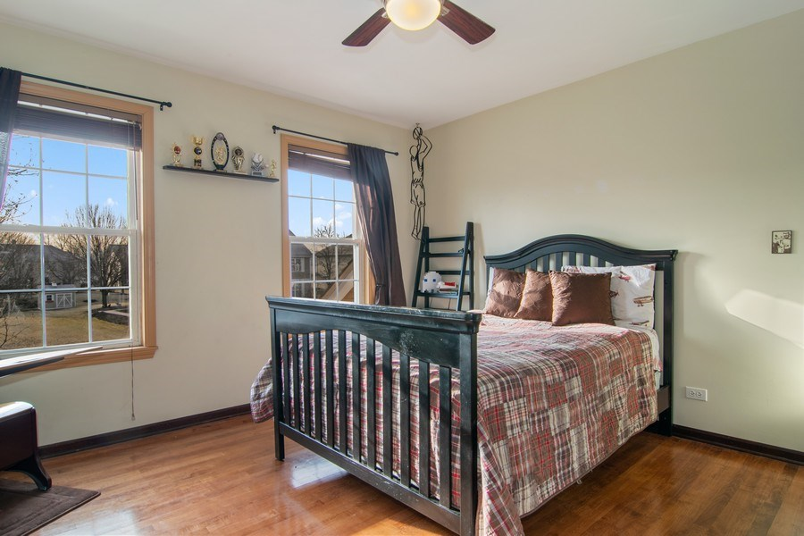 Real Estate Photography - 1456 Polo Drive, Bartlett, IL, 60103 - 2nd Bedroom