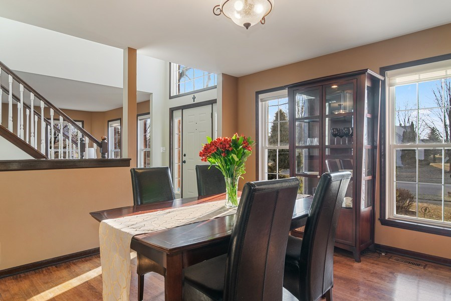 Real Estate Photography - 1456 Polo Drive, Bartlett, IL, 60103 - Dining Room