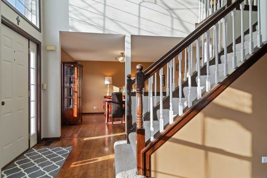 Real Estate Photography - 1456 Polo Drive, Bartlett, IL, 60103 - Foyer