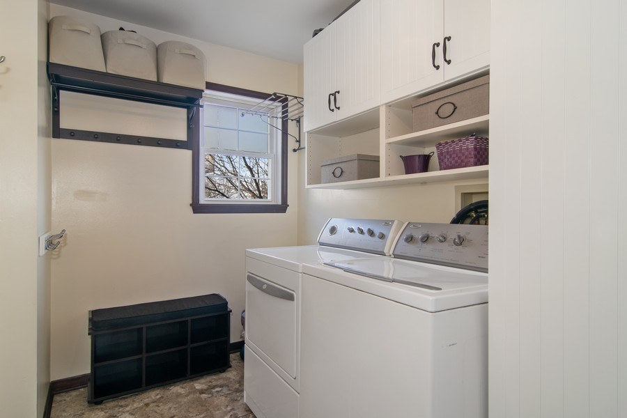 Real Estate Photography - 1456 Polo Drive, Bartlett, IL, 60103 - Laundry Room