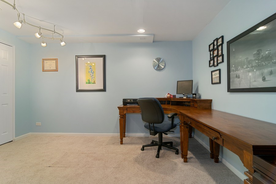 Real Estate Photography - 1456 Polo Drive, Bartlett, IL, 60103 - Office