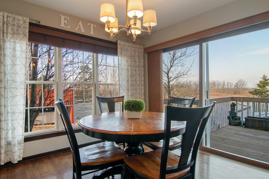 Real Estate Photography - 1456 Polo Drive, Bartlett, IL, 60103 - Breakfast Nook