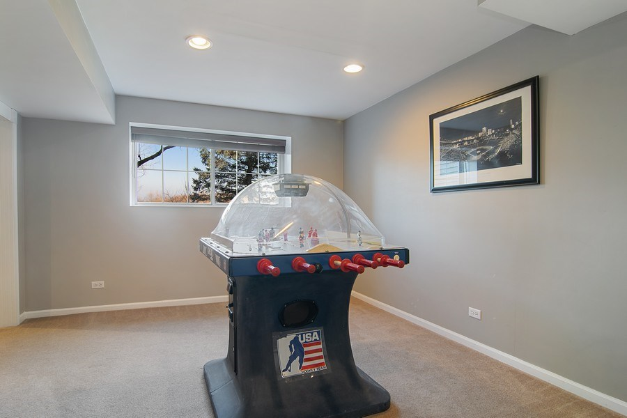 Real Estate Photography - 1456 Polo Drive, Bartlett, IL, 60103 - Play / Recreational Room