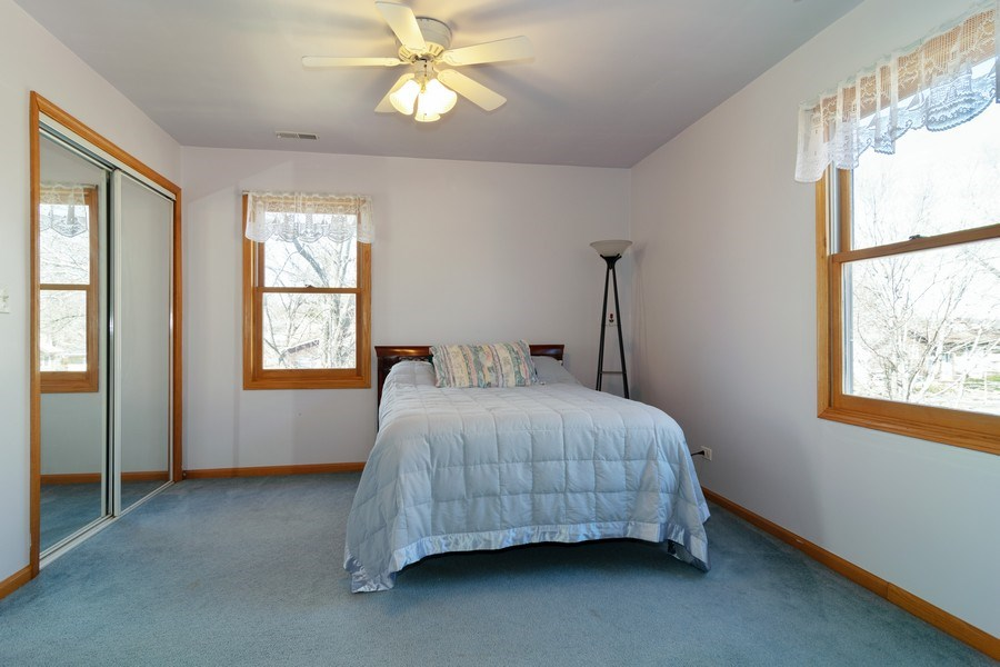 Real Estate Photography - 227 N. BERTEAU Avenue, Bartlett, IL, 60103 - 4th Bedroom