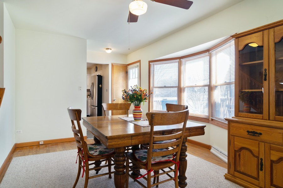 Real Estate Photography - 227 N. BERTEAU Avenue, Bartlett, IL, 60103 - Dining Room