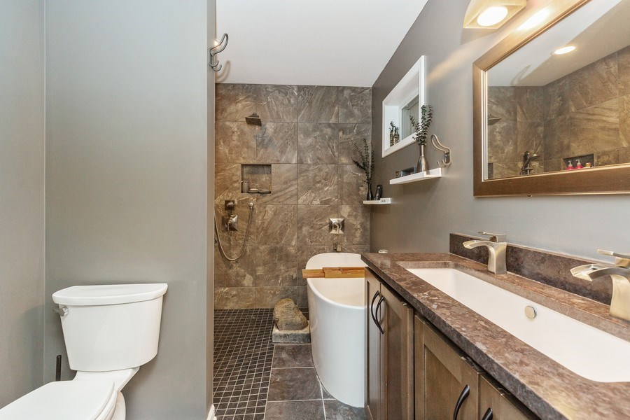 Real Estate Photography - 6503 Sycamore Court, Mchenry, IL, 60050 - Master Bathroom