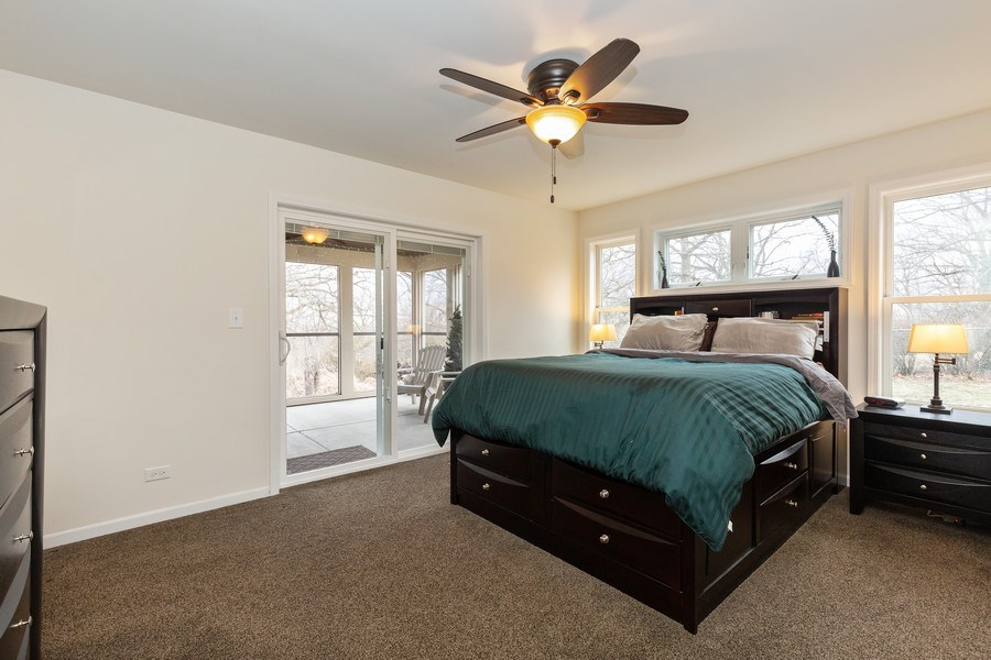 Real Estate Photography - 6503 Sycamore Court, Mchenry, IL, 60050 - Master Bedroom
