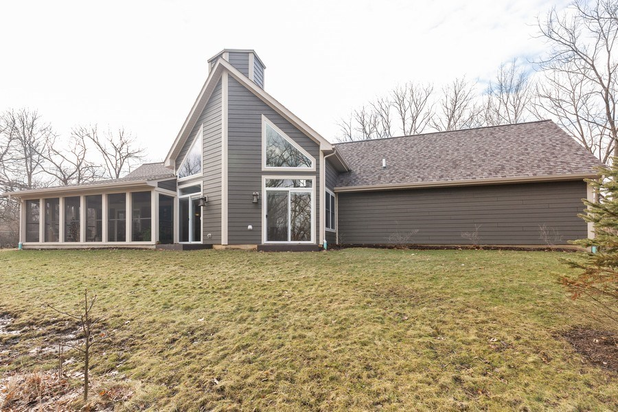 Real Estate Photography - 6503 Sycamore Court, Mchenry, IL, 60050 - Rear View