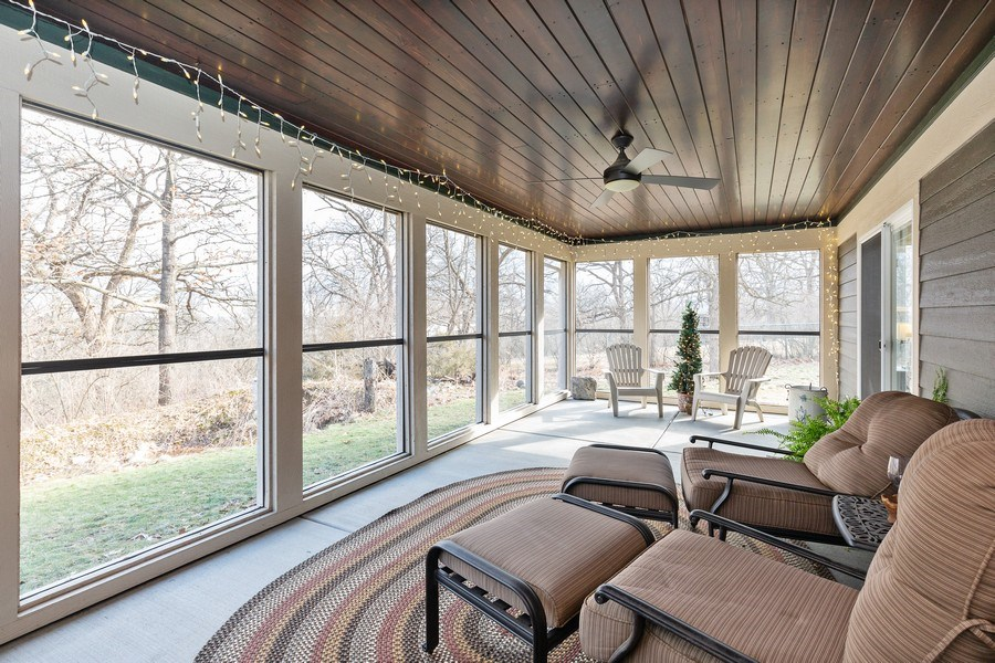 Real Estate Photography - 6503 Sycamore Court, Mchenry, IL, 60050 - Porch