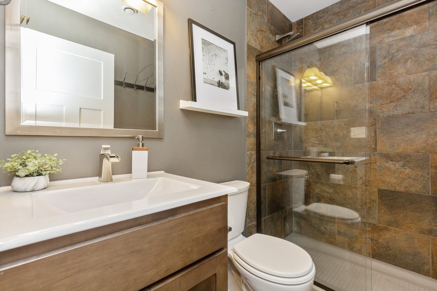 Real Estate Photography - 6503 Sycamore Court, Mchenry, IL, 60050 - Bathroom