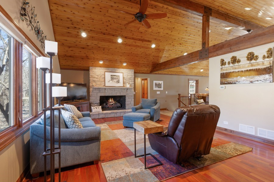 Real Estate Photography - 1065 N. Harrison Street, Algonquin, IL, 60102 - Living Room
